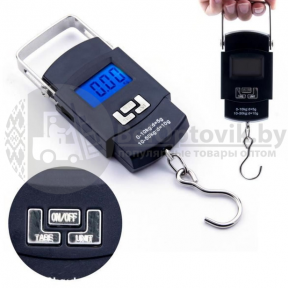Электронные весы-кантер Portable Electronic Scale WH-A08 до 50 кг - фото